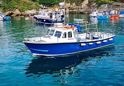 2hr fishing boat trips newquay cornwall